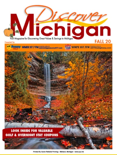 Click to See Discover Michigan Magazine