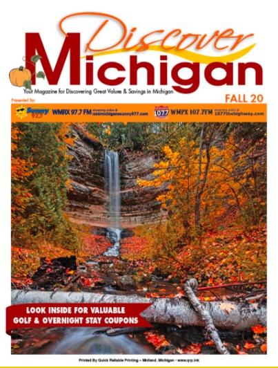 Click to See Discover Michigan Magazine